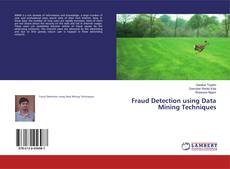 Bookcover of Fraud Detection using Data Mining Techniques