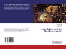Capa do livro de Image Deblurring Using Blind Deconvolution