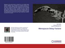 Menopause Delay Factore的封面