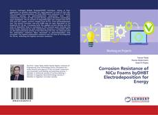 Bookcover of Corrosion Resistance of NiCu Foams byDHBT Electrodeposition for Energy