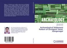 Archaeological Settlement Pattern of Suratgarh Tehsil, Ganganagar kitap kapağı