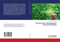 Bookcover of Environment, Development and Sustainability