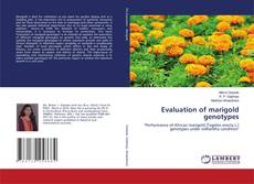Bookcover of Evaluation of marigold genotypes