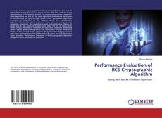 Capa do livro de Performance Evaluation of RC6 Cryptographic Algorithm