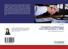 Capa do livro de Competitive performance from CSR practices in SMEs
