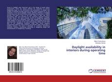 Bookcover of Daylight availability in interiors during operating time