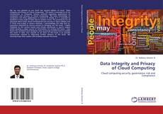 Portada del libro de Data Integrity and Privacy of Cloud Computing