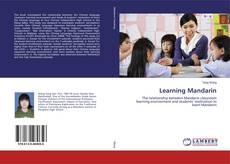 Bookcover of Learning Mandarin