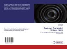 Capa do livro de Design of Corrugated Circular Horns