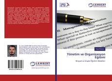 Copertina di Yönetim ve Organizasyon Eğitimi