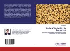 Study of Variability in Fenugreek的封面
