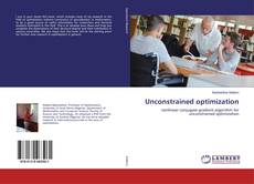 Bookcover of Unconstrained optimization