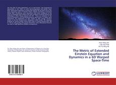 Bookcover of The Metric of Extended Einstein Equation and Dynamics in a 6D Warped Space-Time