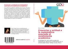 Portada del libro de Creencias y actitud a la matemática asociado al rendimiento académico