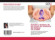 Buchcover von Estudio y Análisis de las Leyes de Violencia de Genero. LO 1/2004