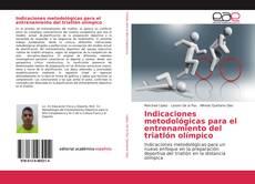 Portada del libro de Indicaciones metodológicas para el entrenamiento del triatlón olímpico