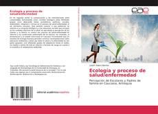 Portada del libro de Ecología y proceso de salud/enfermedad