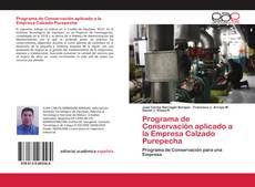 Portada del libro de Programa de Conservación aplicado a la Empresa Calzado Purepecha