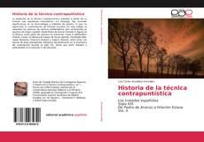 Buchcover von Historia de la técnica contrapuntística