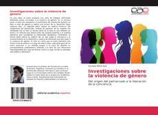 Capa do livro de Investigaciones sobre la violencia de género