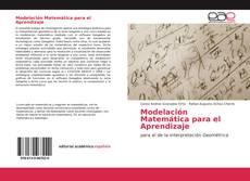 Portada del libro de Modelación Matemática para el Aprendizaje