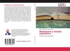 Portada del libro de Religiosos y misión educativa