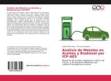 Portada del libro de Análisis de Metales en Aceites y Biodiesel por ICP-AES