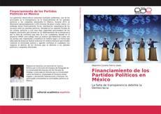 Portada del libro de Financiamiento de los Partidos Políticos en México