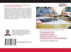 Couverture de Evaluación de competencias profesionales en estudiantes universitarios