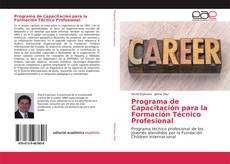 Portada del libro de Programa de Capacitación para la Formación Técnico Profesional