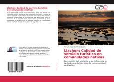 Buchcover von Llachon: Calidad de servicio turístico en comunidades nativas