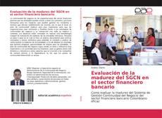 Capa do livro de Evaluación de la madurez del SGCN en el sector financiero bancario
