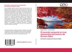 Buchcover von El acento corporal en Los elementos terrestres de Eunice Odio