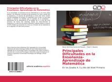 Portada del libro de Principales Dificultades en la Enseñanza- Aprendizaje de Matemática