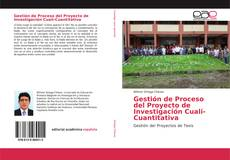 Portada del libro de Gestión de Proceso del Proyecto de Investigación Cuali-Cuantitativa