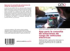 Borítókép a  App para la consulta de estaciones de carga de vehículos eléctricos - hoz