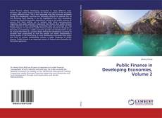 Buchcover von Public Finance in Developing Economies, Volume 2