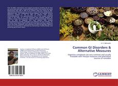 Bookcover of Common GI Disorders & Alternative Measures