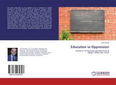 Bookcover of Education vs Oppression