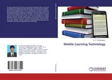 Couverture de Mobile Learning Technology