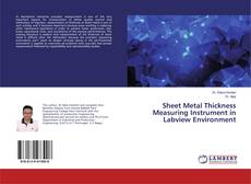 Capa do livro de Sheet Metal Thickness Measuring Instrument in Labview Environment