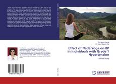 Capa do livro de Effect of Nada Yoga on BP in Individuals with Grade 1 Hypertension