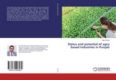Bookcover of Status and potential of agro based Industries in Punjab