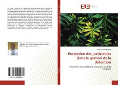 Bookcover of Protection des justiciables dans la gestion de la détention
