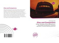 Bookcover of Elias and Companions