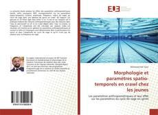 Couverture de Morphologie et paramètres spatio-temporels en crawl chez les jeunes