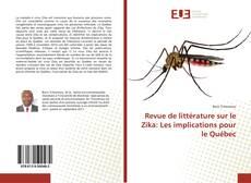 Buchcover von Revue de littérature sur le Zika: Les implications pour le Québec