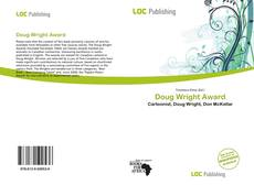 Bookcover of Doug Wright Award