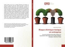 Bookcover of Risque chimique toxique en entreprise