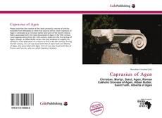 Capa do livro de Caprasius of Agen